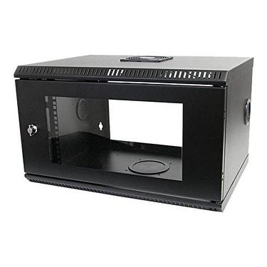 "Startech Rk619walloh 6U 22"" Depth Hinged Open Frame Wall Mount Server Rack"