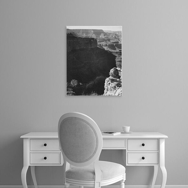Easy Art Prints Ansel Adams's 'Grand Canyon National Park, South Rim 1941' Premium Canvas Art