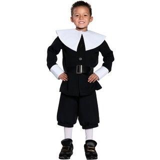 Underwraps Basic Pilgrim Boy Child Costume - Solid
