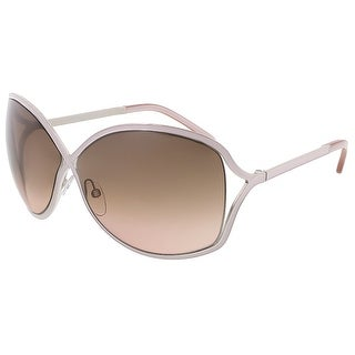 Tom Ford FT0179/S 72F Rickie Lilac/Silver Oval Sunglasses