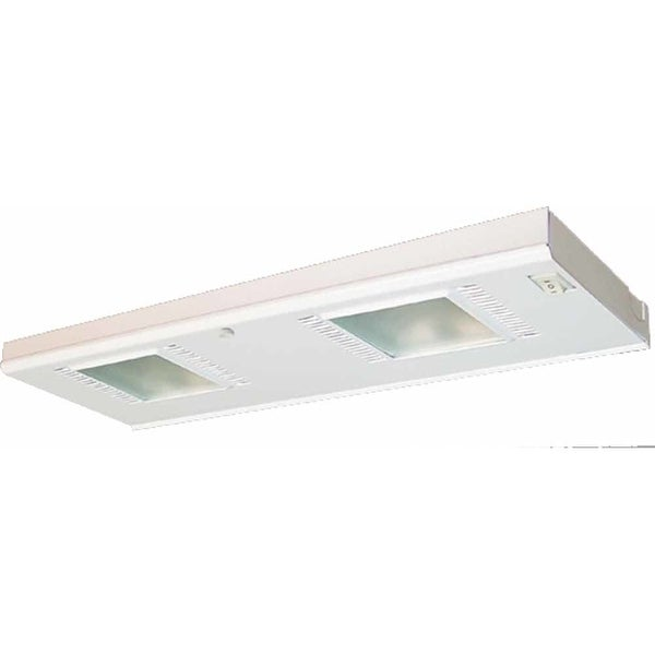 Volume Lighting V6002 2 Light Xenon Under Cabinet Light   White   N/A