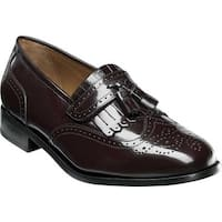 Florsheim Men's Brinson Burgundy Leather