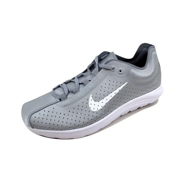 Nike Men's Mayfly Lite BR Wolf Grey/White-Stealth 898027-001