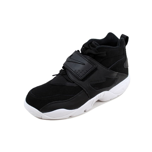 Nike Men's Air Diamond Turf Black/Black-White 309434-014