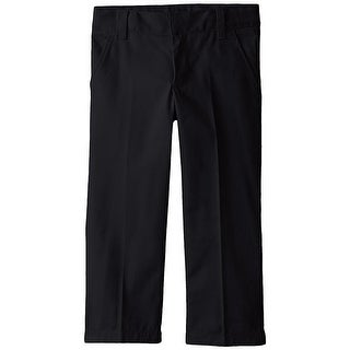 French Toast 8-14 Flat Front Slim Pant