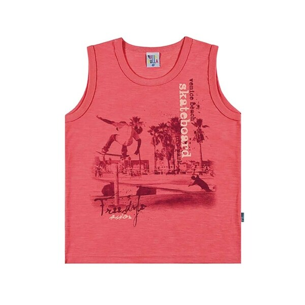 Boys Tank Top Kids Graphic Muscle Shirt Pulla Bulla Sizes 2-10 Years
