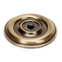 Alno A1453 Bella 1-5/8 Inch Diameter Cabinet Knob Backplate