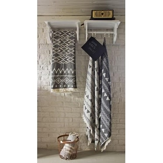 Chalkboard Turkish Bath Towel Pestemal