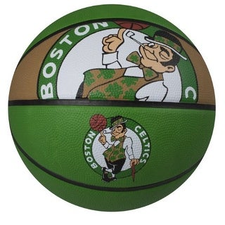 "Spalding SP-73060 NBA Boston Celtics 29.5"" Outdoor Rubber Basketball"