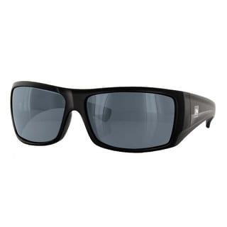 Carve Eyewear Wolf Pak Shiny Black With Non-Polarized Grey Lens