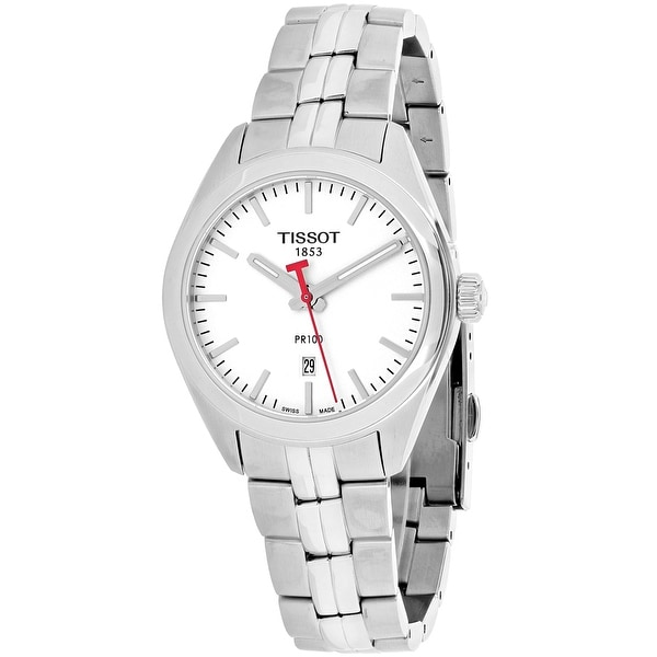 Tissot Women's PR100 NBA T1012101103100 Silver Dial watch