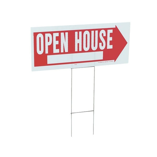 Hy-Ko 10X24 Open House Sign