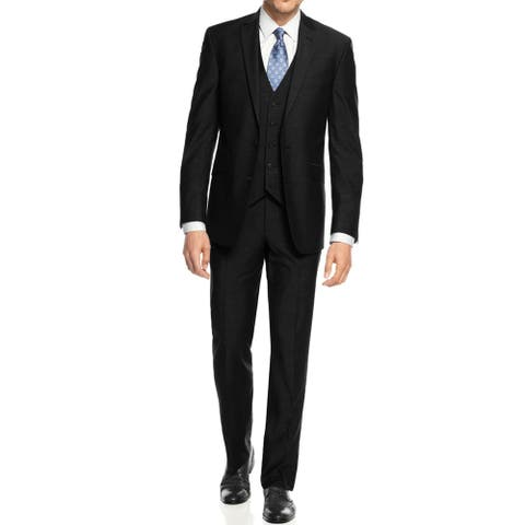 Braveman Mens 3PC Slim Fit Suits