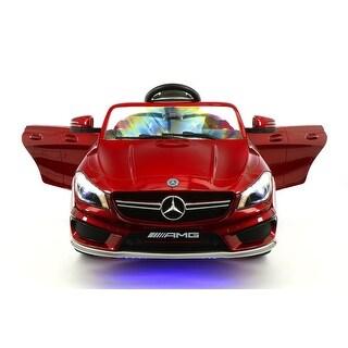 Mercedes CLA45 12V Kids Ride-On Car with R/C Parental Remote