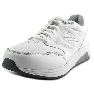 New Balance MW928 Men Round Toe Leather White Walking Shoe