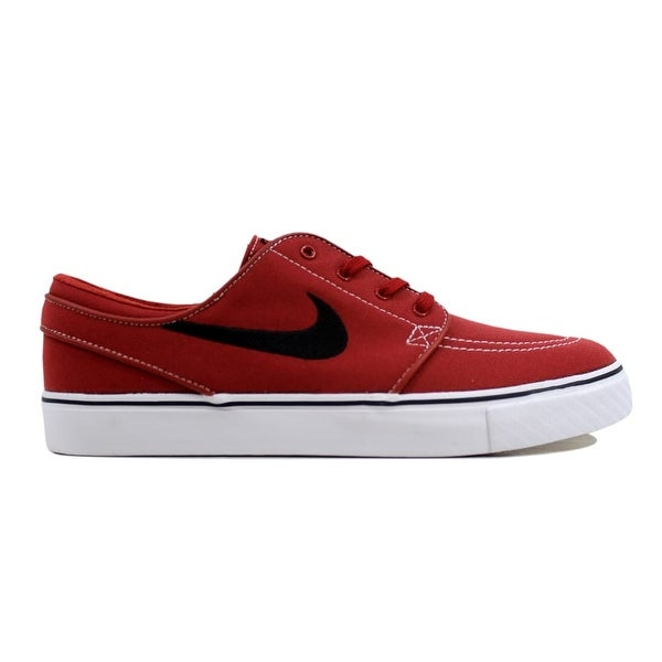 huge discount 65fef 09727 Nike Zoom Stefan Janoski Canvas Dark Cayenne Red Black-Gum Light Brown Men