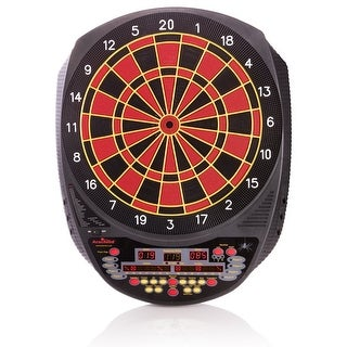Arachnid Inter-Active 6000 Soft-Tip Dart Game Electronic Dartboard / E520H