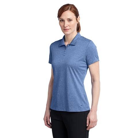 Nike Women's Dri-Fit Heather Polo