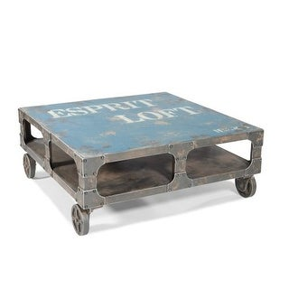 espresso loft coffee table - free shipping today - overstock