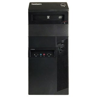 Lenovo ThinkCentre M91P Desktop Computer SFF Intel Core I5 2400 3.1G 4GB DDR3 250G Windows 10 Pro 1 Year Warranty (Refurbished)