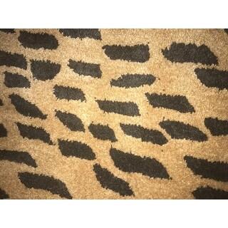 Safavieh Handmade Soho Yamina Leopard N.Z. Wool Rug