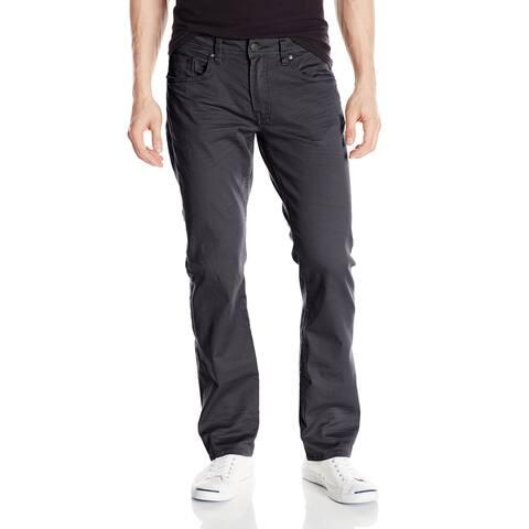 Buffalo David Bitton Mens Pants Gray Size 44X30 Straight Leg Stretch