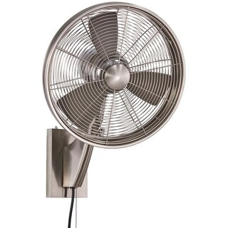"MinkaAire Anywhere 15"" Diameter 3 Speed Indoor / Outdoor Wall Mount Fan"
