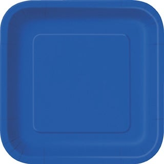 "Dinner Plates 9"" 14/Pkg-Royal Blue"