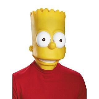 The Simpsons Bart Costume Mask Adult One Size