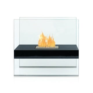 Madison (Black) Bio Ethanol Ventless Fireplace