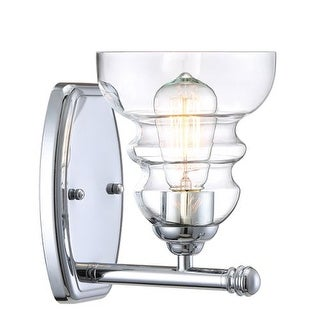 "Millennium Lighting 7331 Brighton Single Light 6"" Wide Bathroom Sconce with Glass Shade"