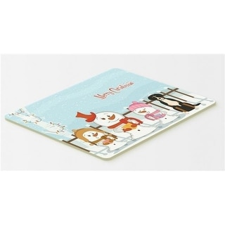 Carolines Treasures BB2368CMT Merry Christmas Carolers Greater Swiss Mountain Dog Kitchen or Bath Mat 20 x 30