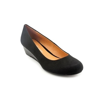 CL By Laundry Marcie Open Toe Synthetic Wedge Heel