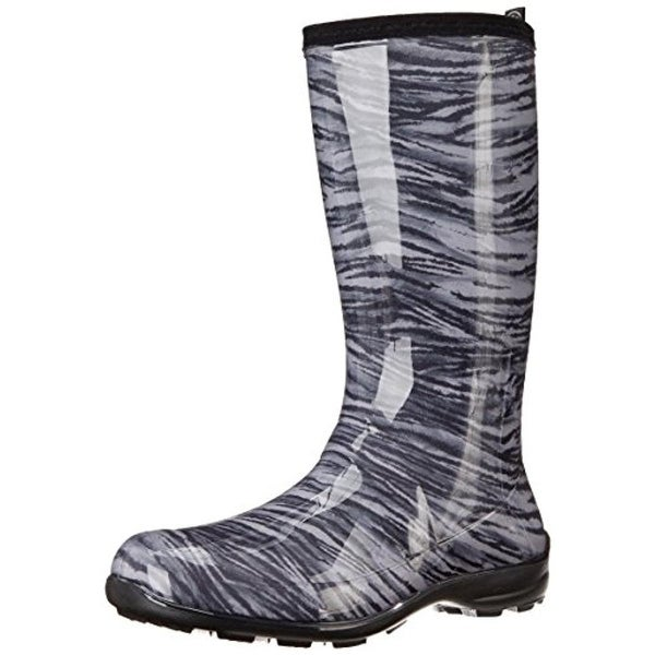 Kamik Womens Tiger Rain Boots Rubber Animal Print - 9 medium (b,m)