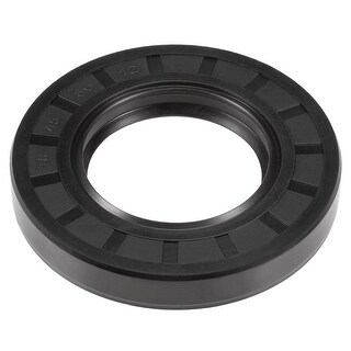 Oil Seal, TC 45mm x 80mm x 12mm, Nitrile Rubber Cover Double Lip - 45mmx80mmx12mm
