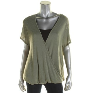 We The Free Womens Hoffman Casual Top Crossover Knit