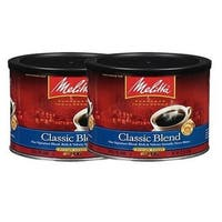 Melitta 602601 Classic Coffee (2-Pack) 22 Ounce Classic Ground Coffee