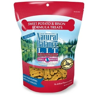 Natural Balance Small Breed Sweet Potato & Bison Treats 8oz