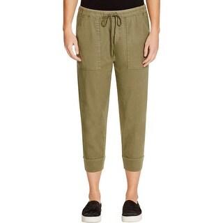 VELVET BY GRAHAM & SPENCER Womens Jogger Pants Casual Banded Bottoms