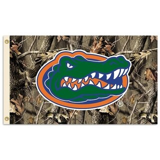 University of Florida Gators Camo Flag