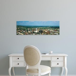 Easy Art Prints Panoramic Images's 'City skyline, Paterson, New Jersey' Premium Canvas Art