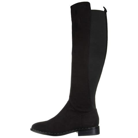 Report Womens Yasha Closed Toe Knee High Fashion Boots