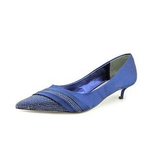 Nina Emmie Pointed Toe Canvas Heels