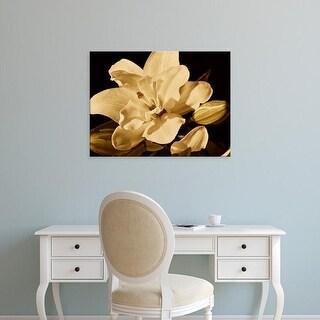 Easy Art Prints Rachel Perry's 'Yvoire Flower I' Premium Canvas Art