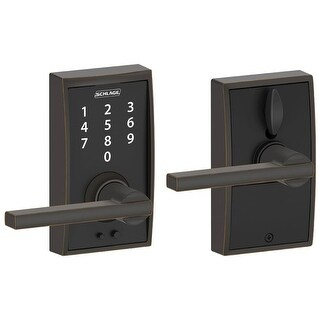 Schlage FE695-CEN-LAT Century Touch Entry Leverset with Latitude Lever (5 options available)