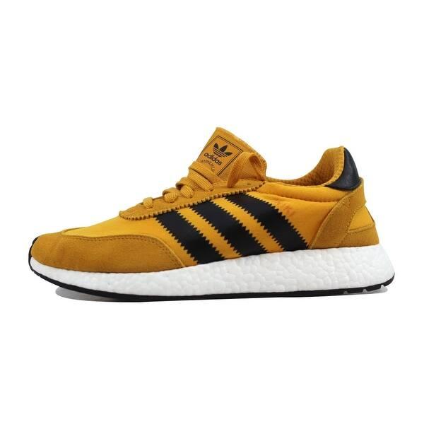 online shop delicate colors factory authentic Shop Adidas Men's Iniki Runner Yellow/Black-White Goldenrod ...