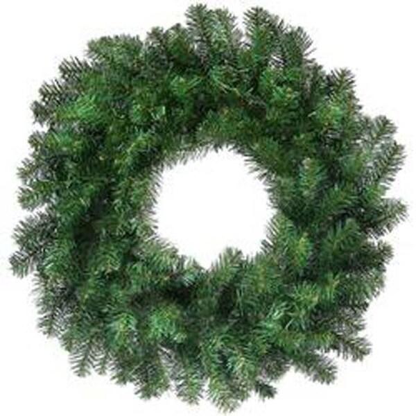 "- Hudson Valley Wreath 24"" 150 Tips"