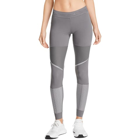 Adidas Womens Athletic Leggings Stretch Fitness - S
