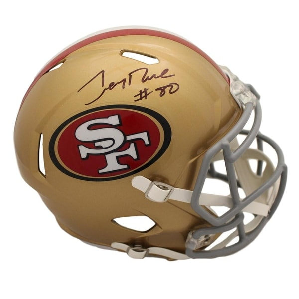 cd135735a1c Shop Jerry Rice Autographed San Francisco 49ers Speed Replica Helmet BAS - Free  Shipping Today - Overstock - 27279185