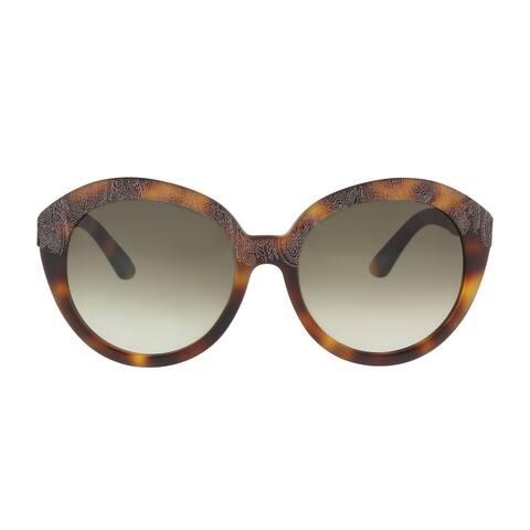 Etro ET620/S 228 Havana Round Sunglasses - 56-18-140